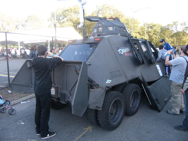 Photo: Back of the TIV. Very heavy.