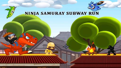 ninja samurai subway run