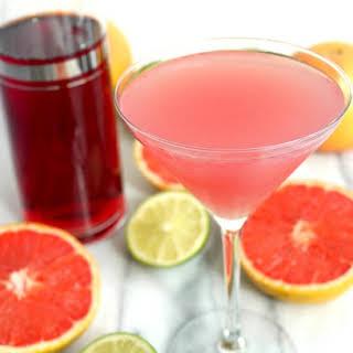 Grapefruit Cranberry Martini.