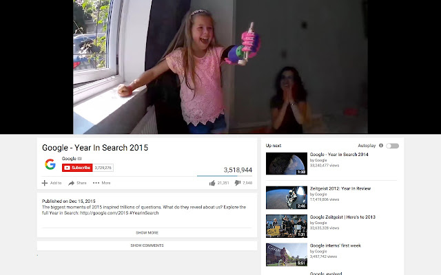 Turn off Youtube Comments toggle