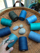 Photo: cotton weaving yarn sets