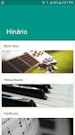 screenshot of Hinário Hinos