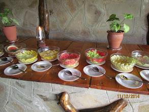 Photo: Large salad choice