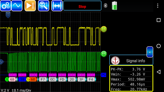 AR-Oscilloscope- screenshot thumbnail