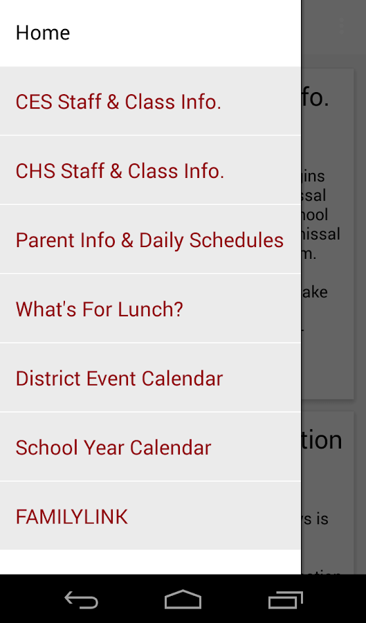 Council School District 13- screenshot