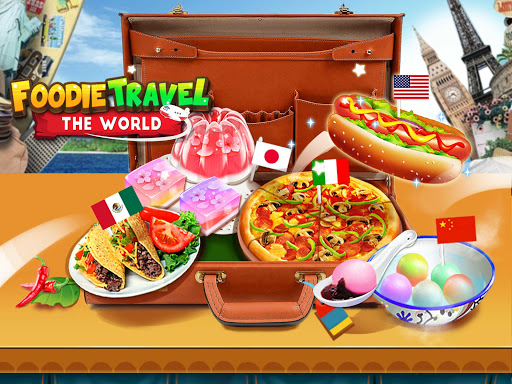 Crazy Foods Cooking: World Travel u2764Make Food Games 1.0 screenshots 1