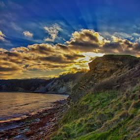Swanage Coast by Matt Lampey - Landscapes Weather