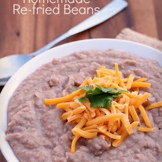 How to Make Homemade Re-Fried Beans Recipe