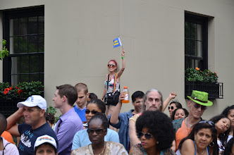 Photo: She was a big supporter of our group.