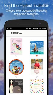 Punchbowl — Online Invitations - náhled