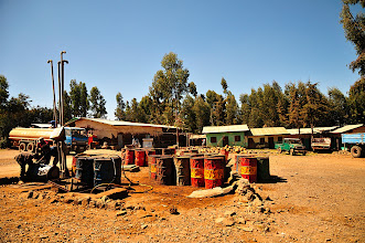 Photo: Lalibella - Bahar Dar - Shell gas station