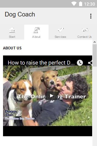 android Dog Coach Screenshot 3