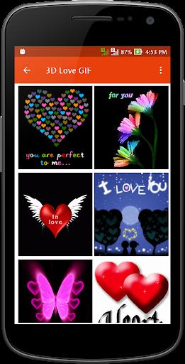 娛樂必備免費app推薦|3D Love Gif Collection線上免付費app下載|3C達人阿輝的APP