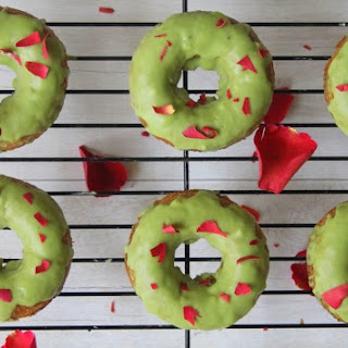 Gluten-Free Baked Doughnuts with Matcha Frosting Recipe