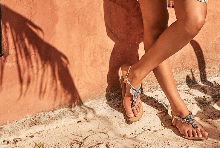 If you're looking for summer footwear trends, you've come to the right place. Life & Style makes sure you step out in style with this season's hottest summer sandals.