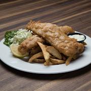 English Style Fish 'n' Chips (2 Pcs)
