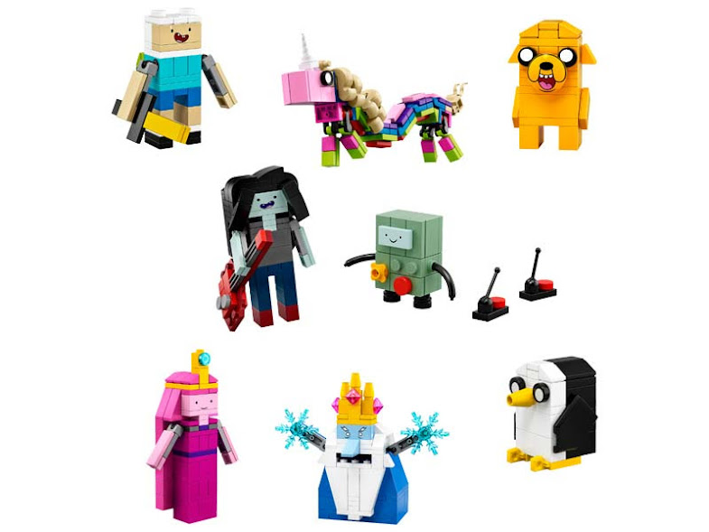 Contenido de Lego® 21308 Adventure Time