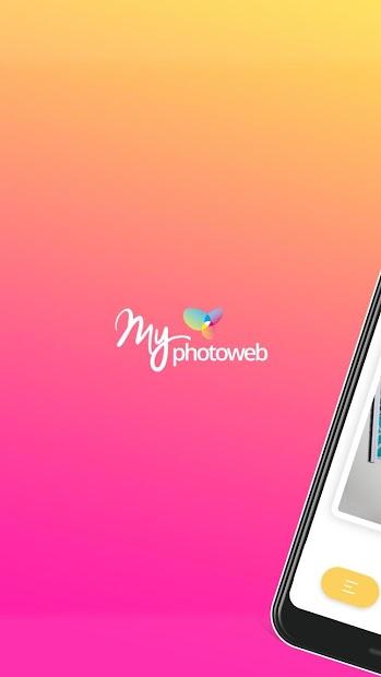 myPhotoweb - Impression photo Android App Screenshot