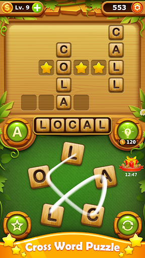 Word Find - Word Connect Free Offline Word Games apkpoly screenshots 2