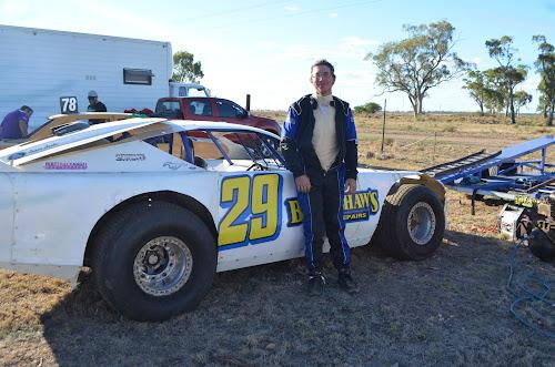 Northwest Speedway Club president Trent Keeler.