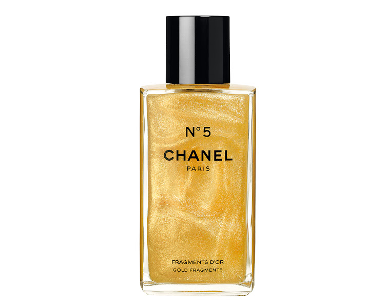 Chanel's Limited Edition No5 Fragments D'or