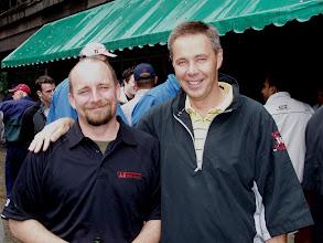 Photo: Jason Kitchen and Chris Healey