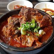 Pork Bone Soup (Gamjatang)