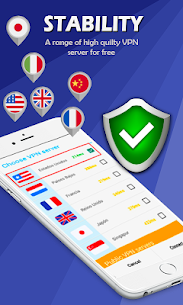 Free VPN Proxy: Secure Shield & Fast Hotspot  App Download For Android 4