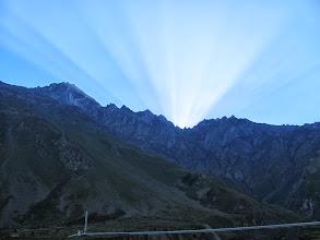 Photo: Sonnenaufgang