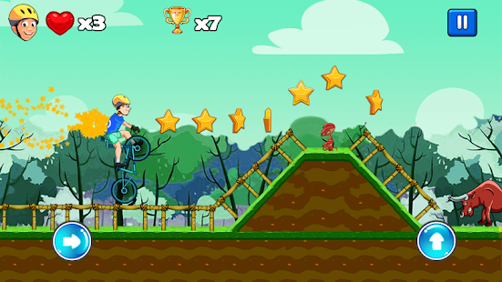 BMX Jungle - bmx boy - bmx game - náhled
