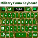 Keyboard Green Military Camo icon