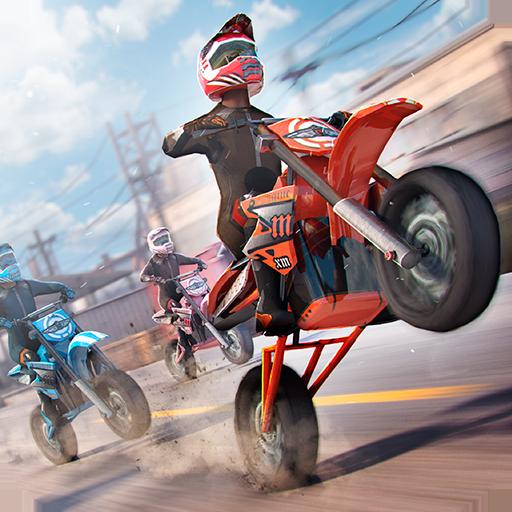 Real Motor Bike Racing - Highway Motorcycle Rider (game)
