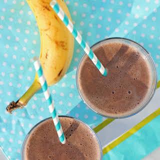 Banana Chocolate Almond Smoothie.