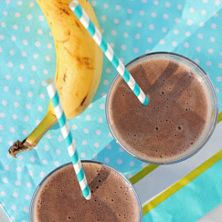 Banana Chocolate Almond Smoothie.