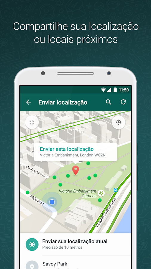 WhatsApp Messenger: captura de tela