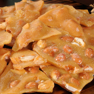 Healthy Peanut Brittle.