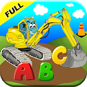 Construction Truck ABC Games for Toddler Kids 2+ icon