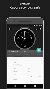 Pujie Black Watch Face Screenshot 21