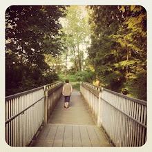 Photo: A small bridge in the park #intercer #bridge #green #trail #nature #instanature #instalife #park #tree #trees #path #life #woman #walk #air #fresh #scene #scenery #canada #britishcolumbia #water - via Instagram, http://instagr.am/p/Ow4wF2pfrn/