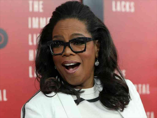 Oprah Winfrey smiles at the premiere of 'The Immortal Life of Henrietta Lacks' in New York, US, April 18, 2017. /REUTERS