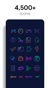 Lines Chroma – Icon Pack 2