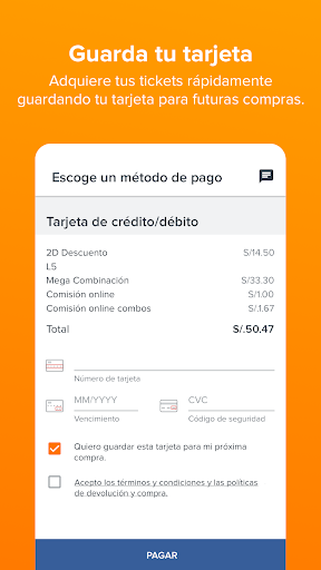 Fandango Latinoamérica – Movie Times + Tickets 5.6.5 screenshots 7