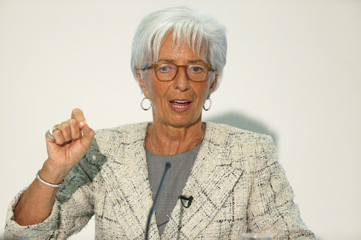 Christine Lagarde. Picture: EPA/LUKE MACGREGOR