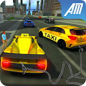 Crazy Taxi Driver 3D: Real Cab Simulator Game