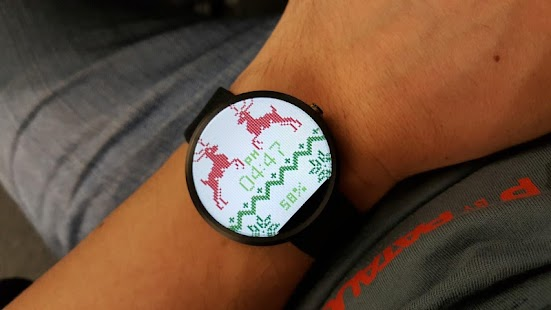 Christmas Sweater Watch Face- screenshot thumbnail