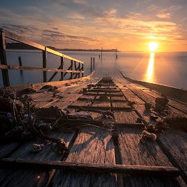 light of hope by Jaime Gomez - Buildings & Architecture Bridges & Suspended Structures