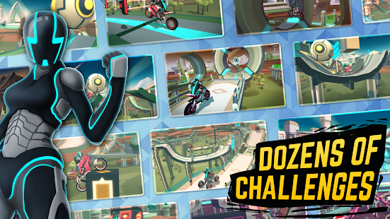 Gravity Rider: Space Bike Racing Game Online for PC-Windows 7,8,10 and Mac apk screenshot 4