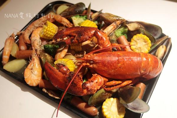 Fidèle妃黛美式海鮮餐廳。冬季限定獨創薑母醬汁手抓Seafood,超狂超霸氣的波士頓龍蝦。