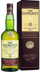 The Glenlivet Single Malt Scotch Whiskey - French Oak Reserve, 15 Years