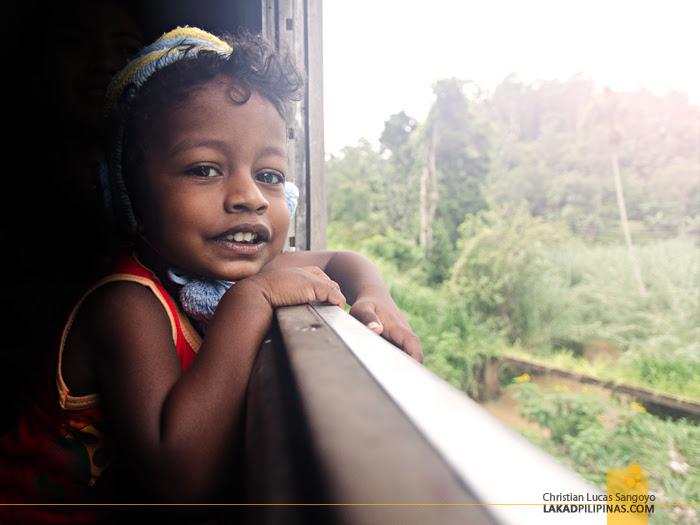 Ella to Colombo Train Passenger